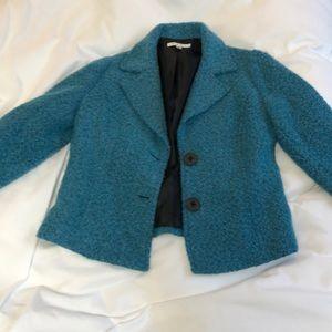 CABI Charming Blue Boucle jacket